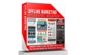 Offline Marketing Infographic Megapack
