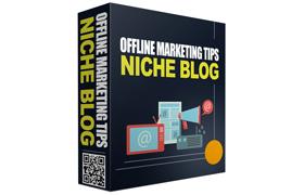 Offline Marketing Tips Niche Blog