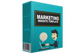 Marketing Minisite Template V1