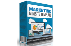 Marketing Minisite Template V3