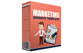 Marketing Minisite Template V4