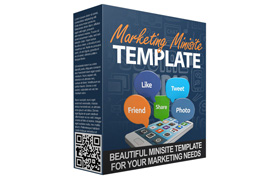 Marketing Minisite Template V6
