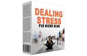 Dealing Stress PLR Niche Blog