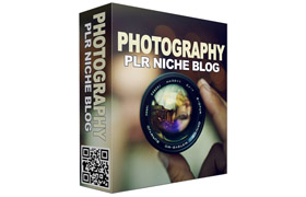 Photography PLR Niche Blog