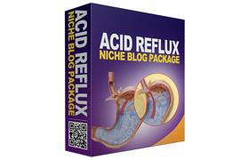 Acide Reflux Niche Blog Package
