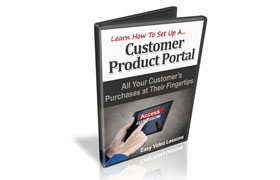 Learn How To Set Up A Customer Product Portal