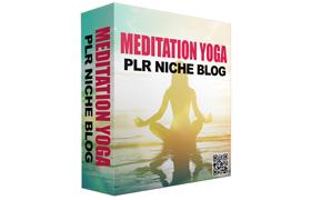 Meditation Yoga PLR Niche Blog