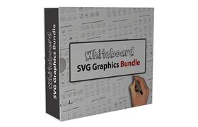 Whiteboard SVG Graphics Bundle