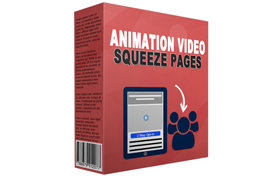 Animation Video Squeeze Pages