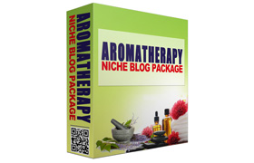 Aromatherapy Niche Blog Package