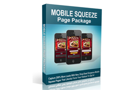 Mobile Squeeze Page Package