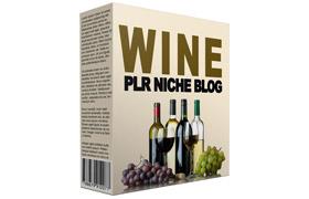 Wine PLR Niche Blog