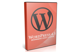 WordPress 4.3 Beginners Video Course