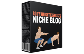 Body Weight Exercises Niche Blog