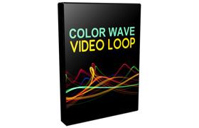 Color Wave Video Loop