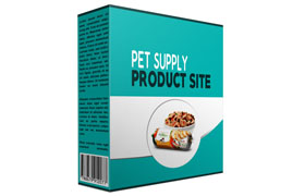 Pet Supply Product Site
