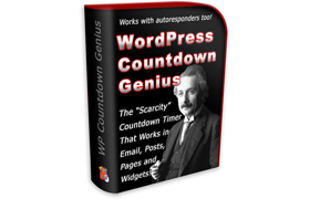 WordPress Countdown Genius