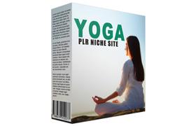 Yoga PLR Niche Site