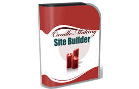 Candle Making Site Builder