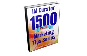 IM Curator 1500 Plus Marketing Tips Series