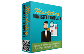 Marketing Minisite Template V1