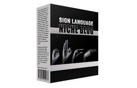 Sign Language Niche Blog
