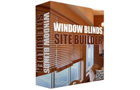 Window Blinds Site Builder