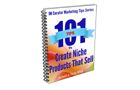 101 Tips To Create Niche Products That Sell