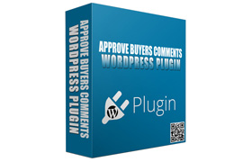 Approve Buyers Comments WordPress Plugin