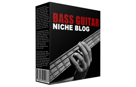 Bass Guitar Niche Blog