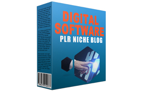 Digital Software PLR Niche Blog