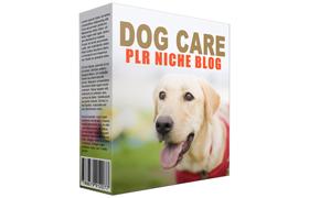 Dog Care PLR Niche Blog