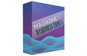 Magazine Wordpress Theme 3