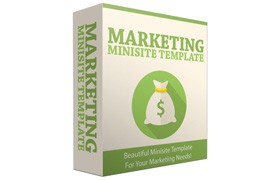 Marketing Minisite Template V2