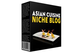 Asian Cuisine Niche Blog