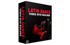 Latin Dance Video Site Builder