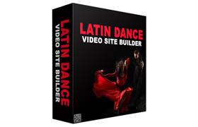 Latin Dance Video Site Builder