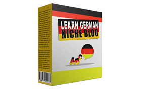 Learn German Niche blog