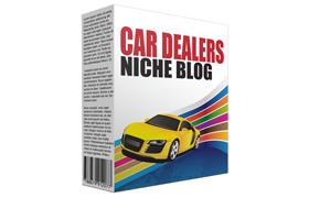 Car Dealers Niche Blog