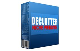 Declutter Niche Website