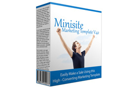 Minisite Marketing Template V.42