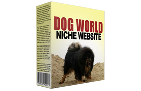 Dog World Niche Website