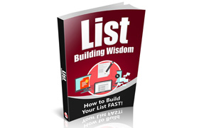 List Building Wisdom