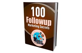 100 Followup Marketing Secrets
