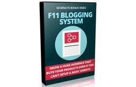 F11 Blogging System