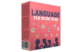 Language PLR Niche Blog