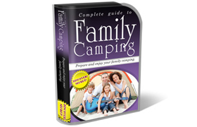 Family Camping HTML PSD Template