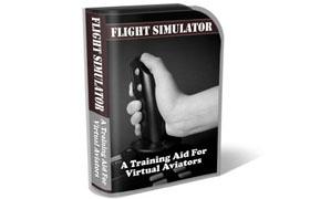 Flight Simulator HTML PSD Template