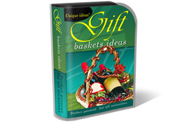 Gift Basket HTML PSD Template