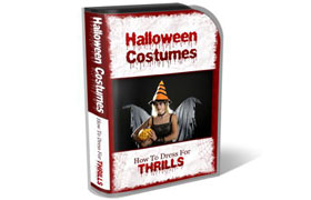Halloween Costume HTML PSD Template